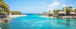 At the Caribbean: Blue Lagoon Curacao